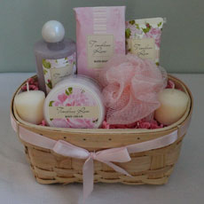 Rose Spa Basket